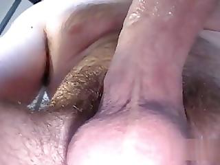 fleshly wife gives juicy oral-stimulation