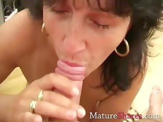 penny is a skilful aged dick sucker
