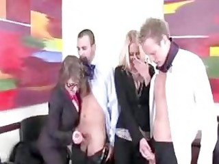 horny office milfs want to blow their co workers