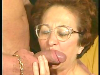 retro granny receives sexy dicking from muscled