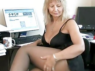 secretary housewife fingering her older bawdy