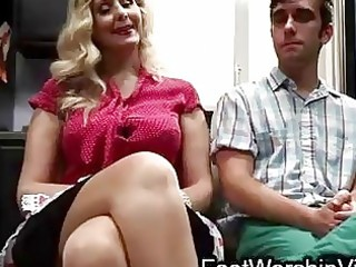 lad copulates and licks feet on mother i