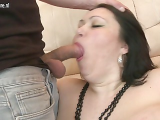 large titted mother enjoying a youthful dong