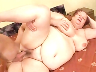 big beautiful woman grannie bonks with young