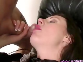 british older in stockings sucks and gets drilled