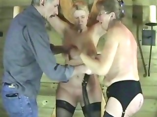 aged non-professional slaves in raunchy