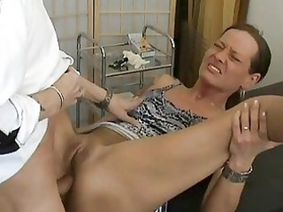 aged non-professional wife anal fuck with creampie