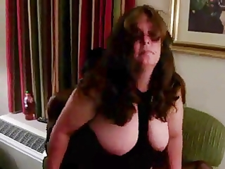 big beautiful woman aged hotel ful