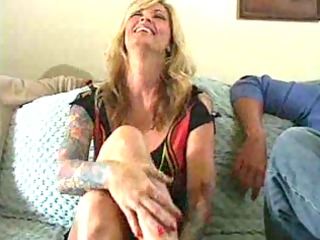 busty golden-haired d like to fuck janine and