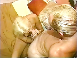 golden-haired aged has a fuck