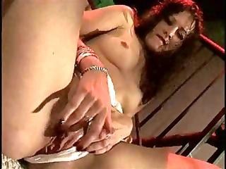 bawdy aged slut copulates her juicy fur pie with