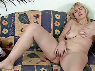 aged masturbating on the daybed