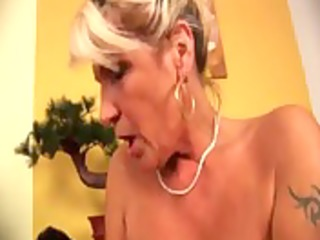 youporn - granny acquires a unyielding stick