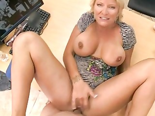 lustful non-professional golden-haired mother i