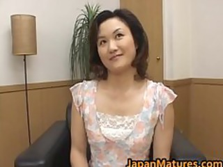 sexy aged oriental woman is amazing for part0
