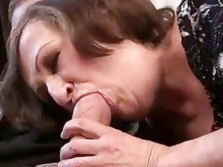 unattractive granny gets drilled charming hard