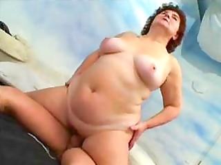 bulky russian granny 89