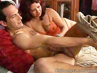 Mature Mexican Slut Enjoying A Big Stick