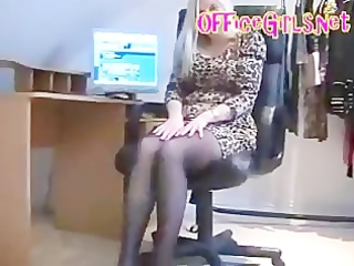 d like to fuck secretary in seamless hose fingers