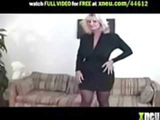 golden-haired mature with large round mambos hot