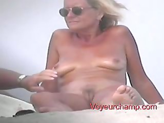 voyeurchamp- bare beach voyeur# 011 matures touch