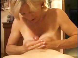 older golden-haired is experienced in the art of