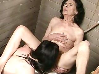 very old granny in lesbo sex
