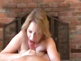 older cook jerking with amazing spunk fountain on