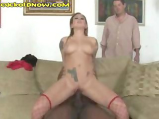 breasty redhead wife acquires screwed by dark