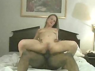 wench wife receives creampied by bbc