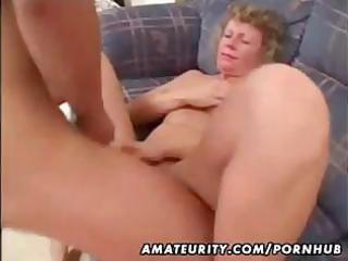 aged dilettante wife homemade fucking with spunk