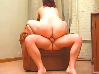 non-professional older mother drilled anal