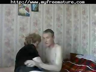 aged russian mommy acquires a youthful man to