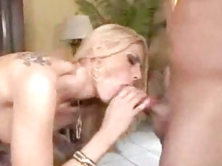 three-some with sexually excited milfs