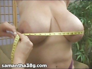 3 large tit milfs shake marangos and rub teats