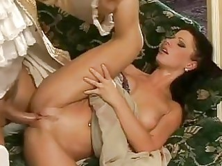 sweet dark haired milf acquires nailed hardcore