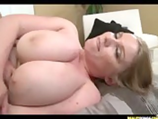 large boobed milf desiree acquires team-fucked
