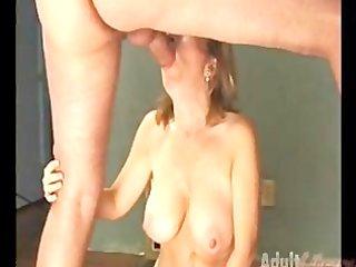 granny sucking penis