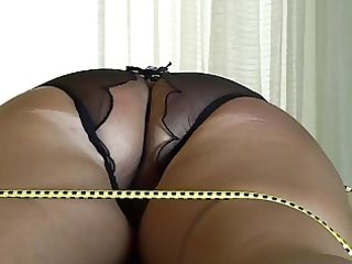 a-hole torture of fastened wife