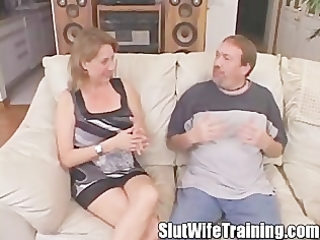 whore wife anal intervention creampie