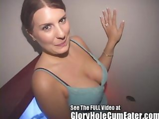 gloryhole wife rose ryder swallowing gloryhole