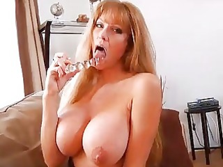 mature bigtit redhead housewife