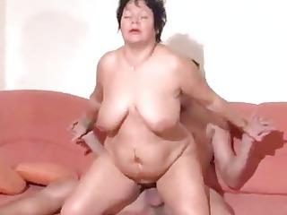 overweight pierced german mature