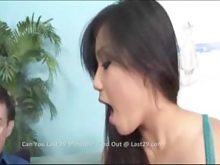 oriental mom teaches daughter