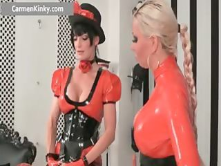 breasty large boobed latex lewd mother i part11