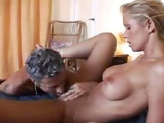 this hot wife isn`t gratified by her husband, so