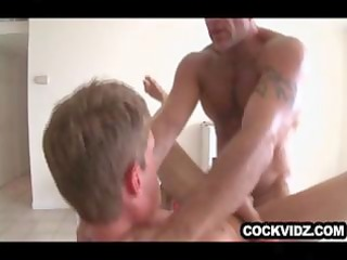 older dude slamming a tight twink arsehole