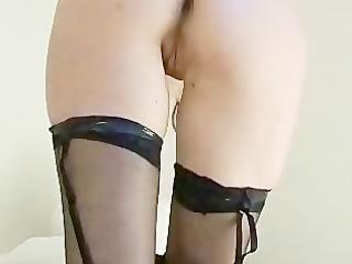 Sext stockings babe taking it