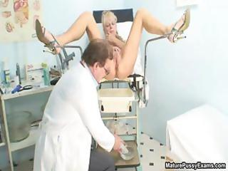 lustful older patient toying her pink part0