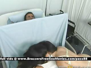mature breasty dark brown nurses in hospital